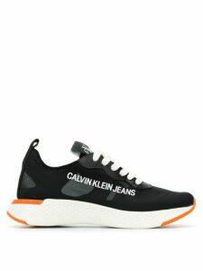 Calvin Klein Jeans logo panel sneakers - Black