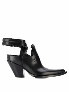 Maison Margiela Texan cut-out ankle boots - Black