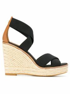 Tory Burch wedged sandals - Black