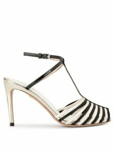 Giambattista Valli contrast open-toe sandals - White