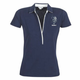 U.S Polo Assn.  CHRISTINE POLO SS  women's Polo shirt in Blue