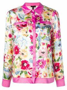 Escada floral print shirt - PINK