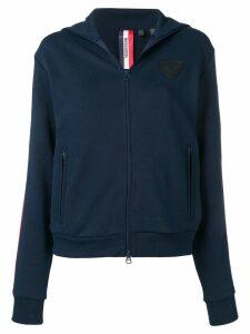 Rossignol zip front hoodie - Blue