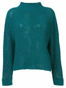 Roseanna chunky knit jumper - Blue