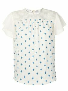 Philosophy Di Lorenzo Serafini embroidered blouse - Neutrals