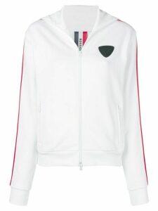 Rossignol zip front hoodie - White