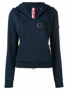 Rossignol logo zipped hoodie - Blue