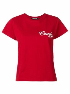 Adaptation Candy print T-shirt - Red