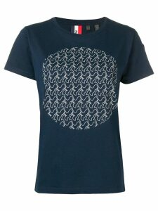 Rossignol logo moon T-shirt - Blue