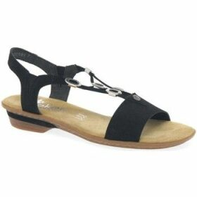 Rieker  Moral Womens Sandals  women's Sandals in Black