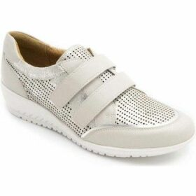 Padders  Element Womens Riptape Trainers  women's Shoes (Trainers) in Grey