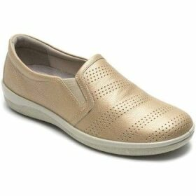 Padders  Gigi Womens Casual Slip On Shoes  women's Slip-ons (Shoes) in Gold