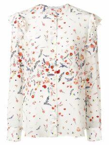 Ermanno Scervino floral print shirt - White