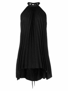 Isaac Sellam Experience halterneck pleated top - Black