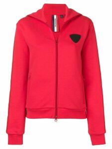 Rossignol zip front hoodie - Red