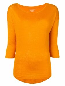 Majestic Filatures round neck jumper - Orange