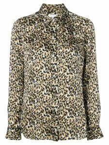 Equipment leopard print shirt - NEUTRALS