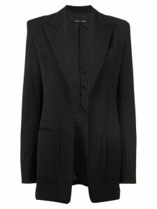 Proenza Schouler Wool Suiting Blazer - Black