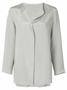 Peter Cohen loose-fit shirt - SILVER