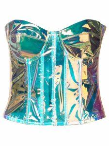 Natasha Zinko strapless corset top - PINK
