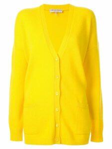 Emilio Pucci oversized cashmere cardigan - Yellow