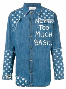 Faith Connexion denim shirt - Blue