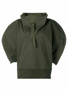 Bottega Veneta balloon-sleeve sweater - Green