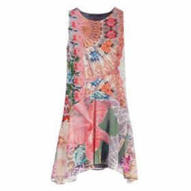 Desigual  LUCILLE  women's Dress in Pink