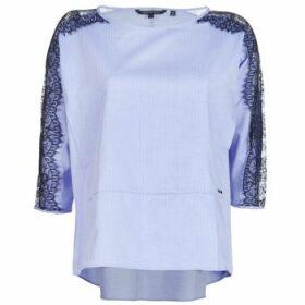 Armani Exchange  HELBORI  women's Blouse in Blue