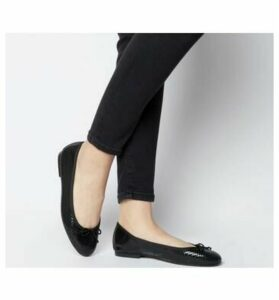 Office Funk Ballet BLACK SNAKE LEATHER