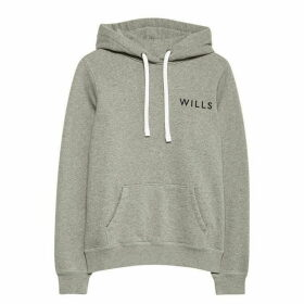 Jack Wills Huntson Hoodie Womens - Grey Marl 022