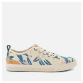 TOMS Women's TRVL Lite Low Trainers - Lilac Floral - UK 8 - Multi