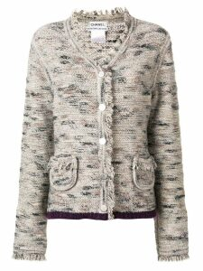 Chanel Pre-Owned 1999's knitted jacket - Grey