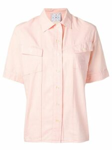Fendi Pre-Owned 1970's shortsleeved shirt - PINK