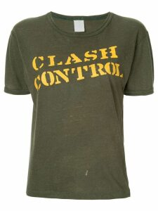 Fake Alpha Vintage The Clash T-shirt - Green
