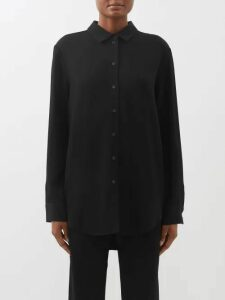 Carolina Herrera - Floral Cotton Blend Crochet Blouse - Womens - White