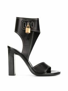 Tom Ford padlock open-toe sandals - Black