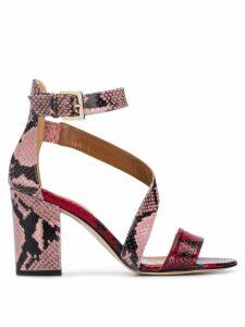 Paris Texas block heel sandals - PINK