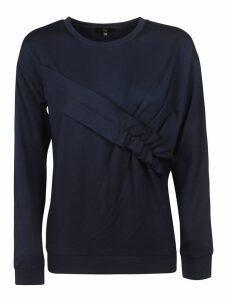 Fay Gathered Detail Sweatshirt