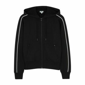 Kenzo Black Hooded Cotton Sweatshirt