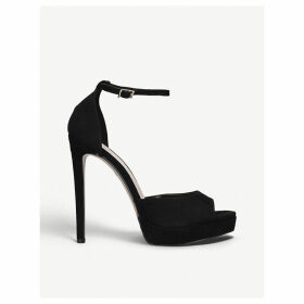 Lopez faux-leather sandals