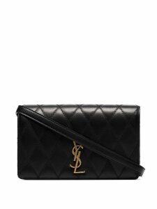 Saint Laurent Angie quilted shoulder bag - Black