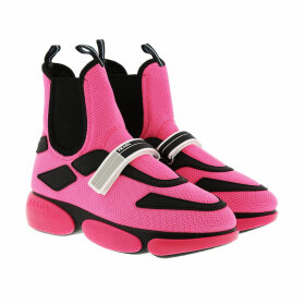 Prada Sneakers - Cloudbust High Top Sneakers Rosa Fluo - magenta - Sneakers for ladies