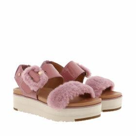 UGG Sandals - W Fluff Chella Sandals Pink Dawn - rose - Sandals for ladies