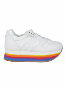 Hogan Hogan Rainbow Sole Platform Sneakers