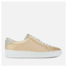 MICHAEL MICHAEL KORS Women's Irving Cupsole Trainers - Pale Gold - UK 5 - Gold