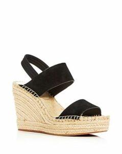 Kenneth Cole Women's Olivia Wedge Slingback Espadrille Sandals