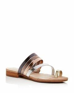 Kenneth Cole Women's Valen Scroll Toe-Ring Sandals