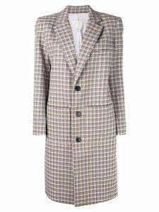 Tibi Zio plaid coat - Multicolour