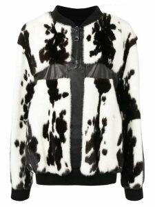 Liska paneled pullover - White